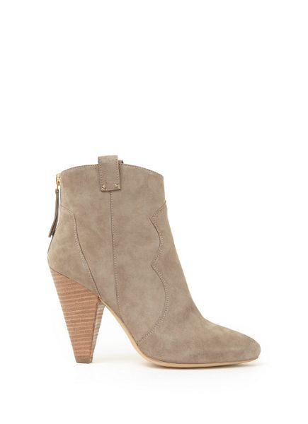Mint Velvet Stone Camillla Pointed Cowboy Boot