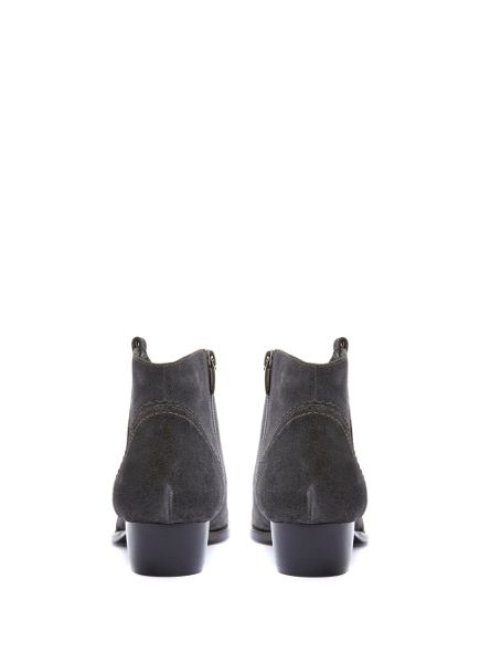 Mint Velvet Granite Claire Suede Boot