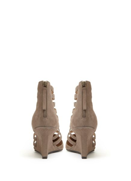 Mint Velvet Tan Orla Slim Wedge Court