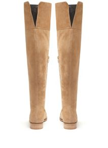 Mint Velvet Sand Ana Over The Knee Boot