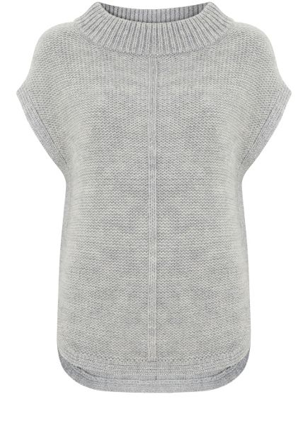 Mint Velvet Silver Grey Side Zip Tabard