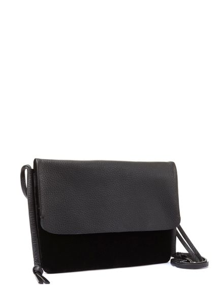 Mint Velvet Black Velvet Pippa Cross Body