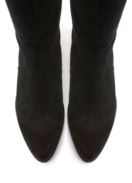 Mint Velvet Black Ana Over The Knee Boot