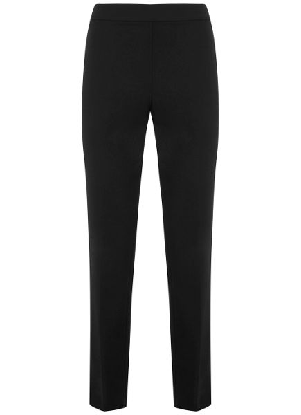 Mint Velvet Black High Waist Trouser