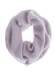 Mint Velvet Lilac Rib Knit Snood