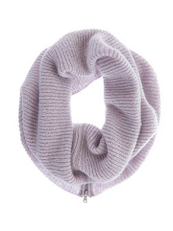 Lilac Rib Knit Snood