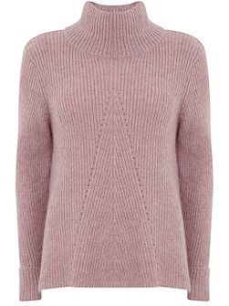 Rose Pointelle Knit