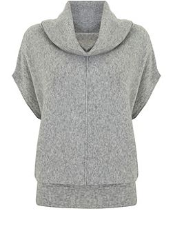Silver Grey Cocoon Knit