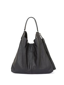 Black Devon Studded Tote Bag