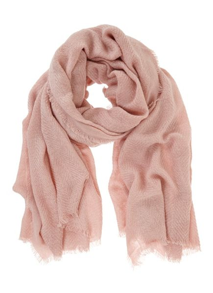 Mint Velvet Rose Plain Textured Scarf