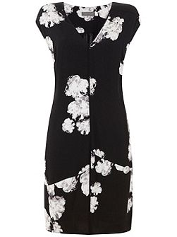 Rosamund Print Cocoon Dress