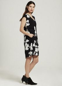 Mint Velvet Rosamund Print Cocoon Dress