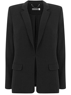 Black Deconstructed Blazer
