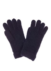 Mint Velvet Navy Rib Knitted Gloves