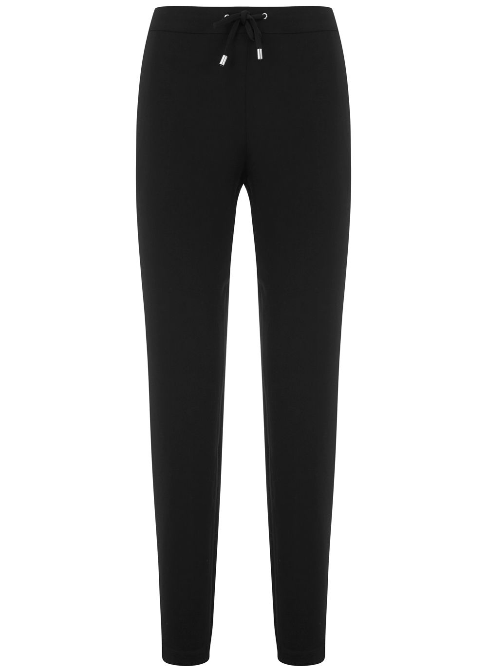 Mint Velvet Black Side Stripe Sports Pant, Black