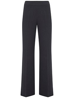 Ink Luxe Side Split Wide Leg Trouser