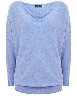 Bluebell Split Sleeve Batwing Knit