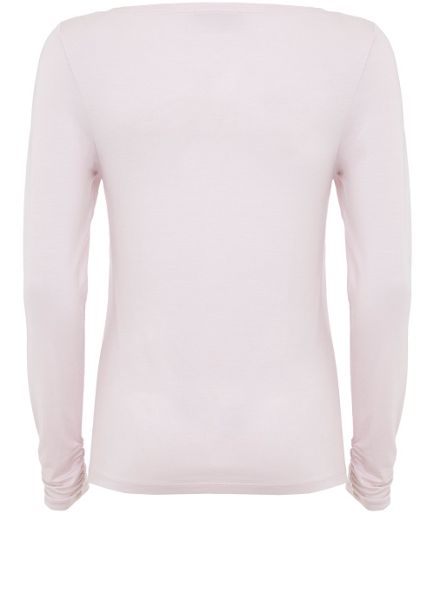 Mint Velvet Candy Floss Long Sleeve Modal Tee