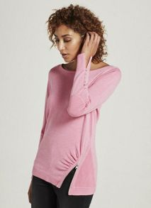 Mint Velvet Peony Zip Detail Fitted Knit