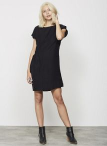 Mint Velvet Black T-Shirt Dress