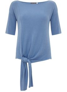 Mint Velvet Bluebell Knotted Tee