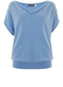 Mint Velvet Bluebell Short Sleeve Batwing