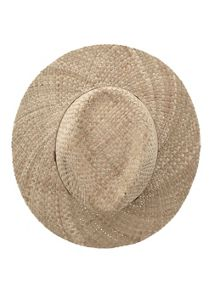 Mint Velvet Natural Straw Fedora