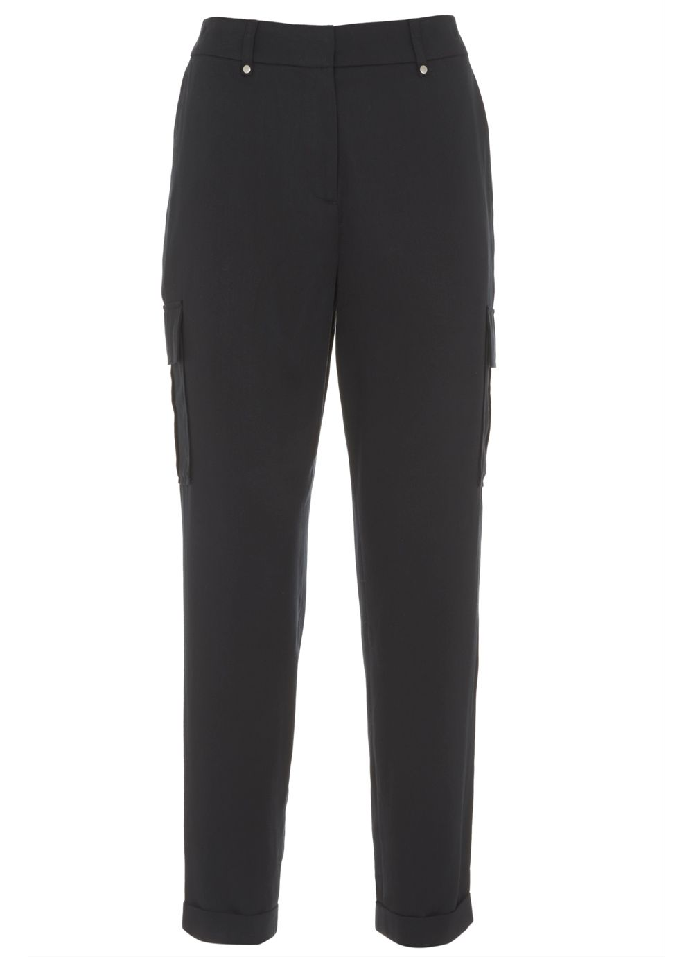 Mint Velvet Ink Cargo Sports Pant, Dark Blue