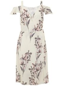 Mint Velvet Gemma Print Wrap Dress