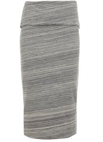 Mint Velvet Grey Space Dye Tube Skirt