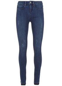 Mint Velvet Maryland Indigo Let Down Hem Jean