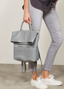 Mint Velvet Maine Grey Biker Jean