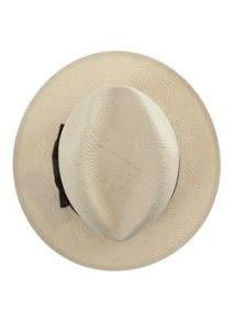 Mint Velvet Cream Straw Panama Hat