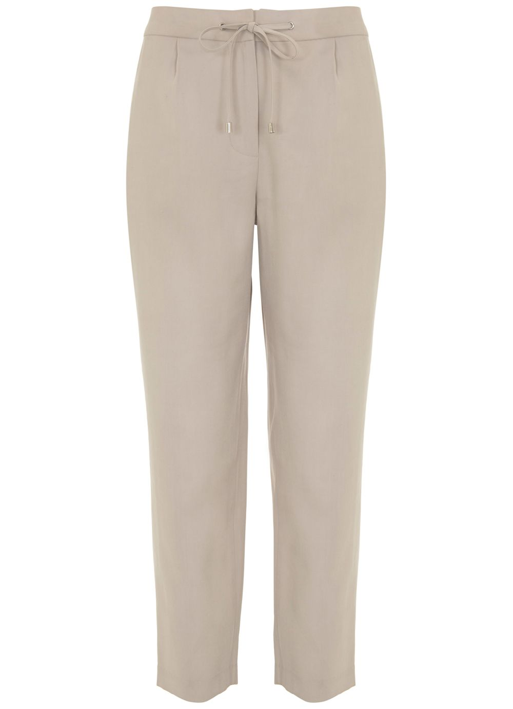 Mint Velvet Oyster Zip Sports Pant, Neutral