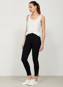 Mint Velvet Haywood Black Split Ankle Jegging
