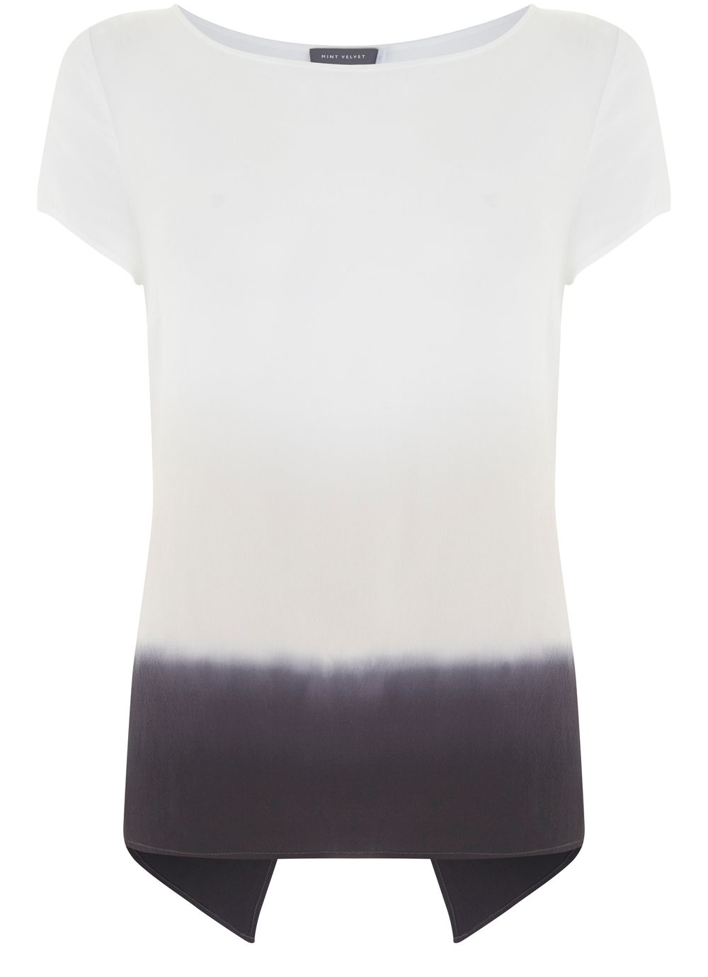 Mint Velvet Ombre Tee, Multi-Coloured