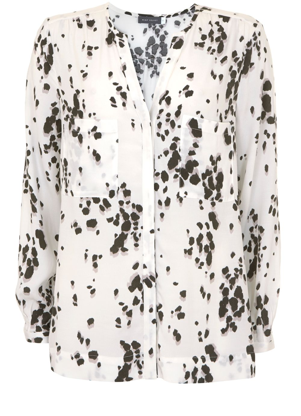 Mint Velvet Sashia Print Shirt, Multi-Coloured