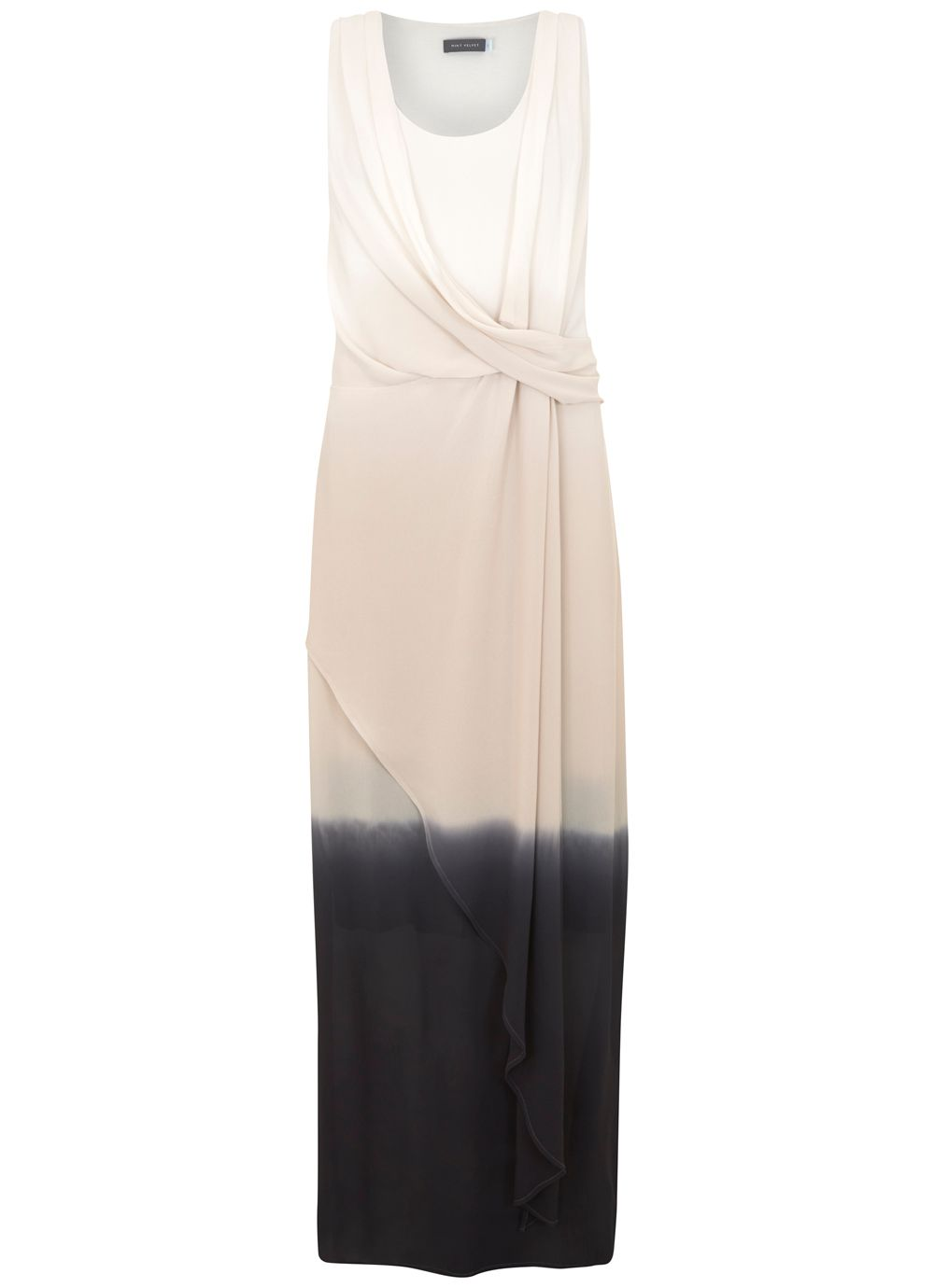 Mint Velvet Ombre Maxi Dress, Multi-Coloured