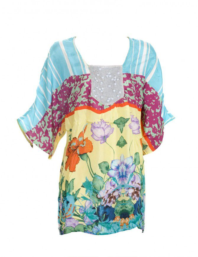 Aftershock Womens Aftershock Majorca Blouse, Yellow product image