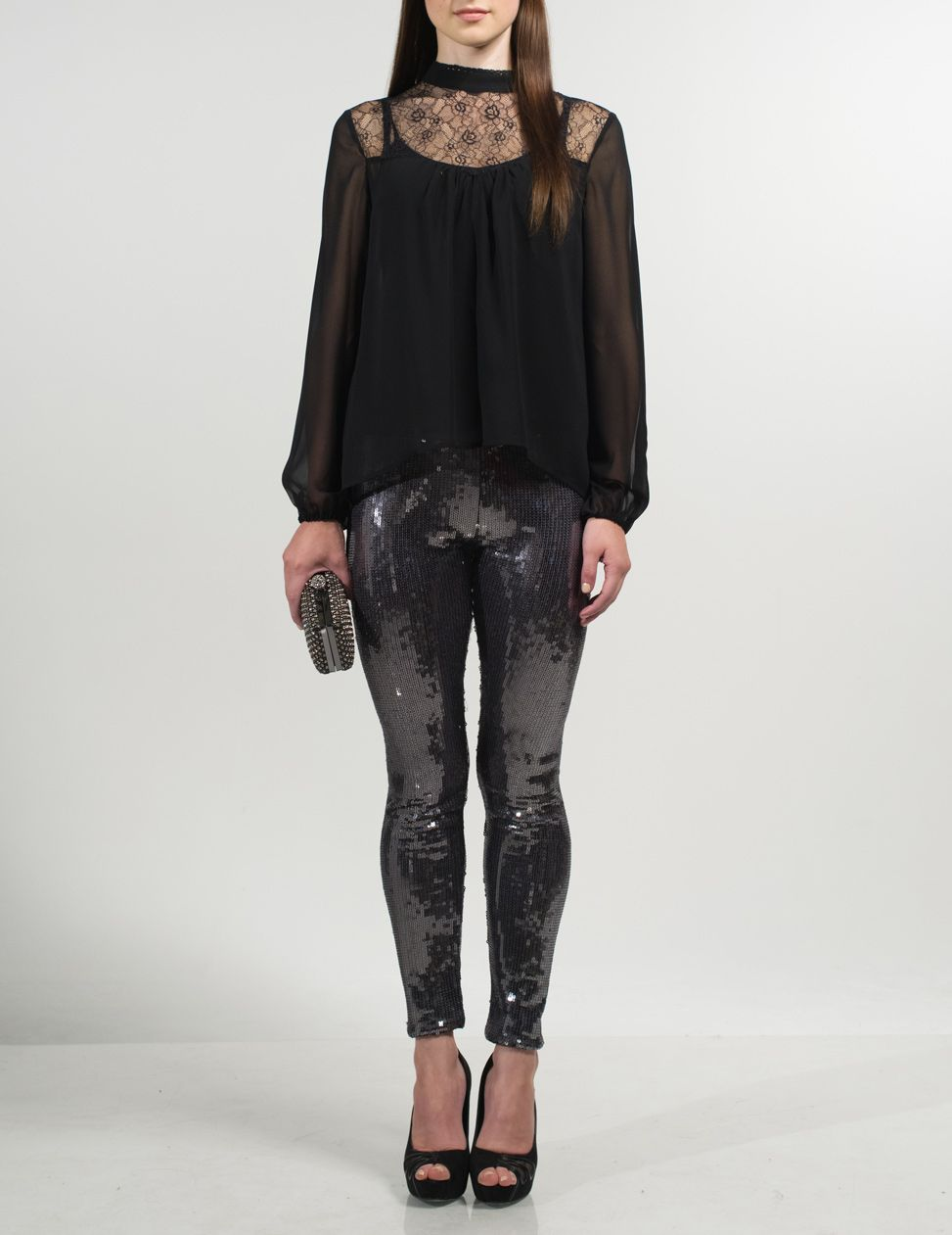 Vania sequin leggings