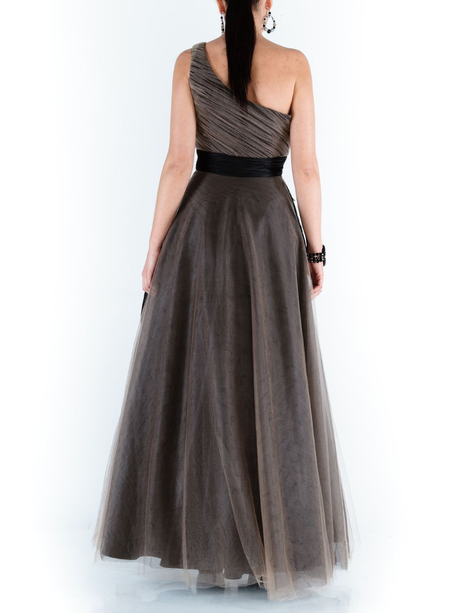 Tyronna one shoulder maxi dress
