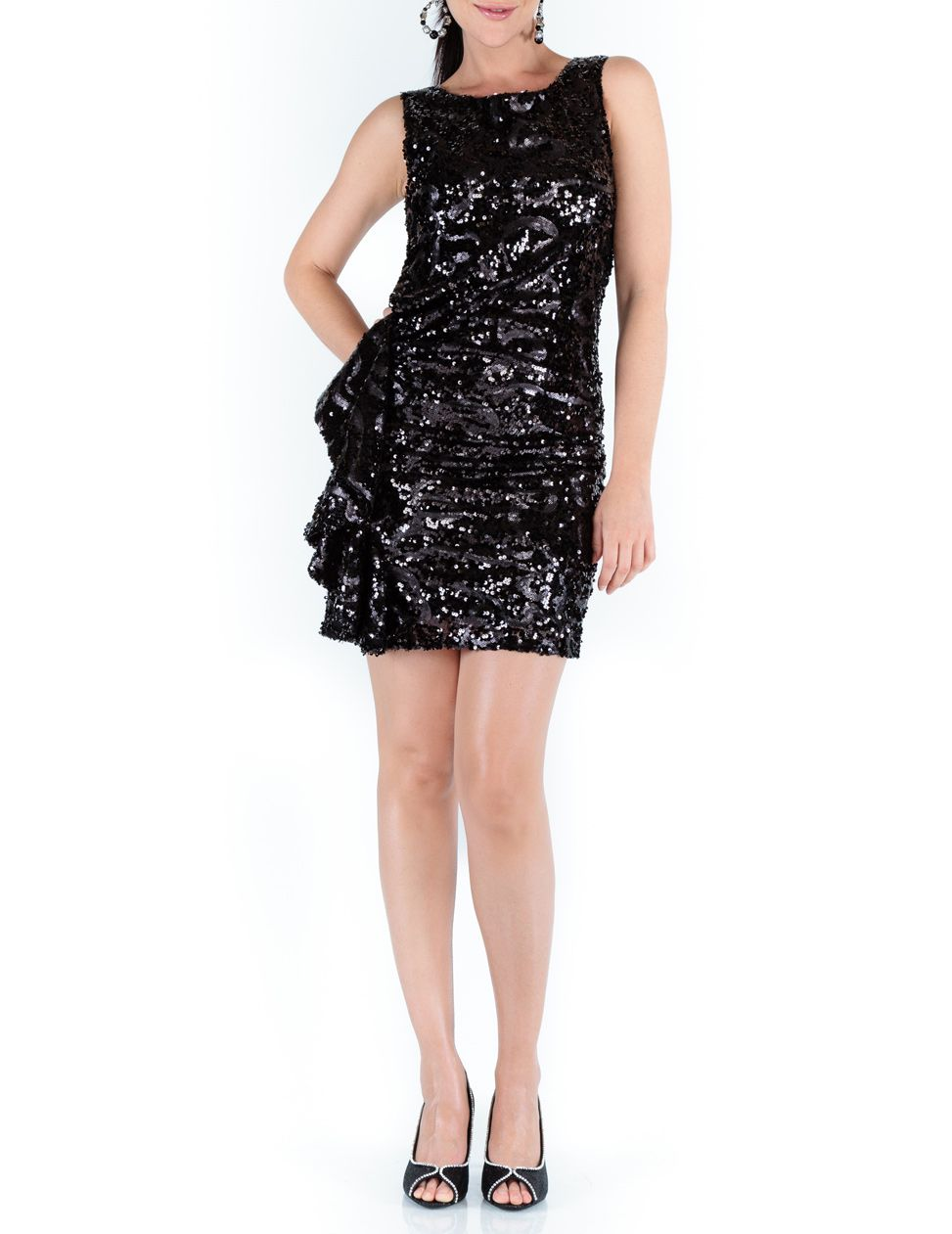 Tabara sequin short dress
