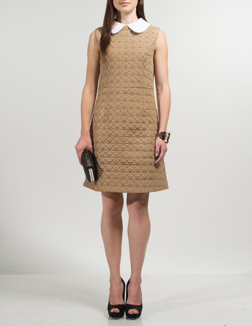 Deyba quilted dress