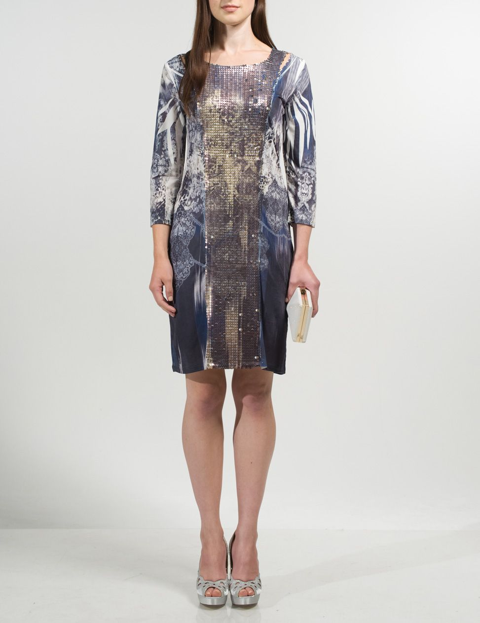 Delger print dress