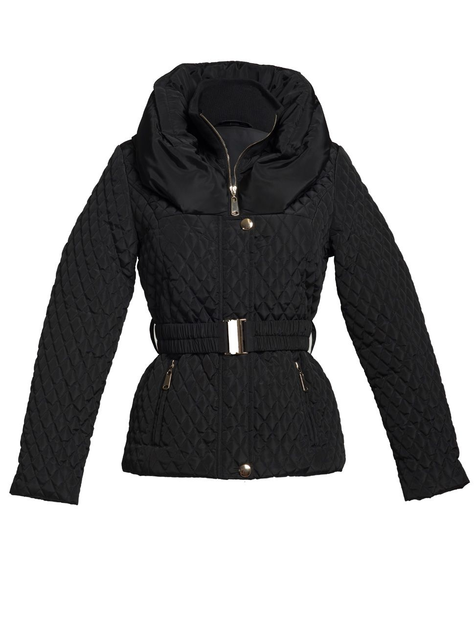 Hart black hooded jacket