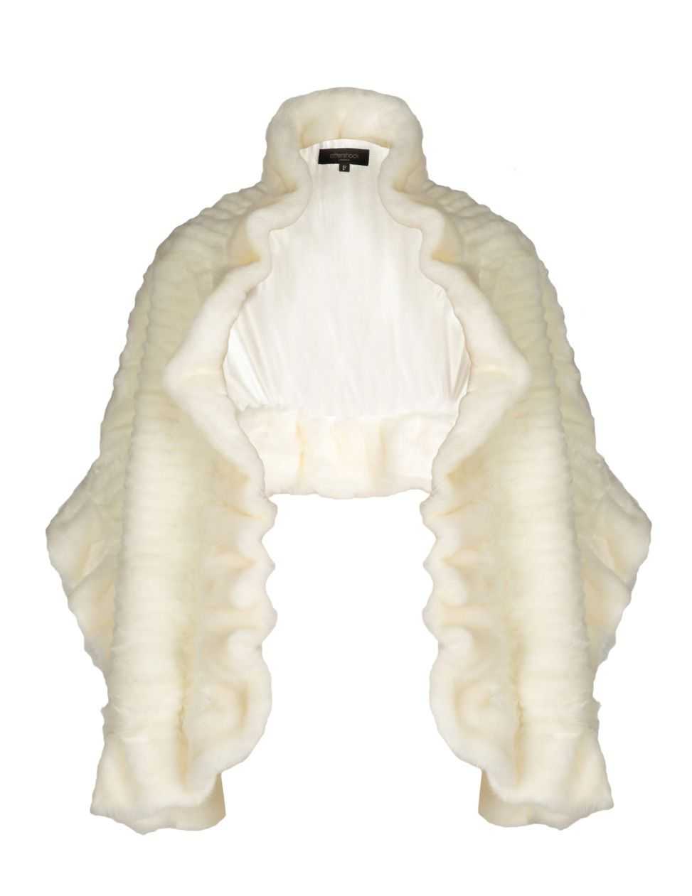 Alice faux fur wrap