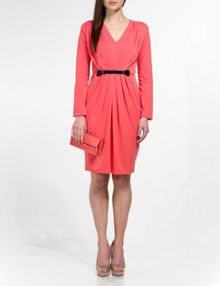 Aaden jersey knee length dress