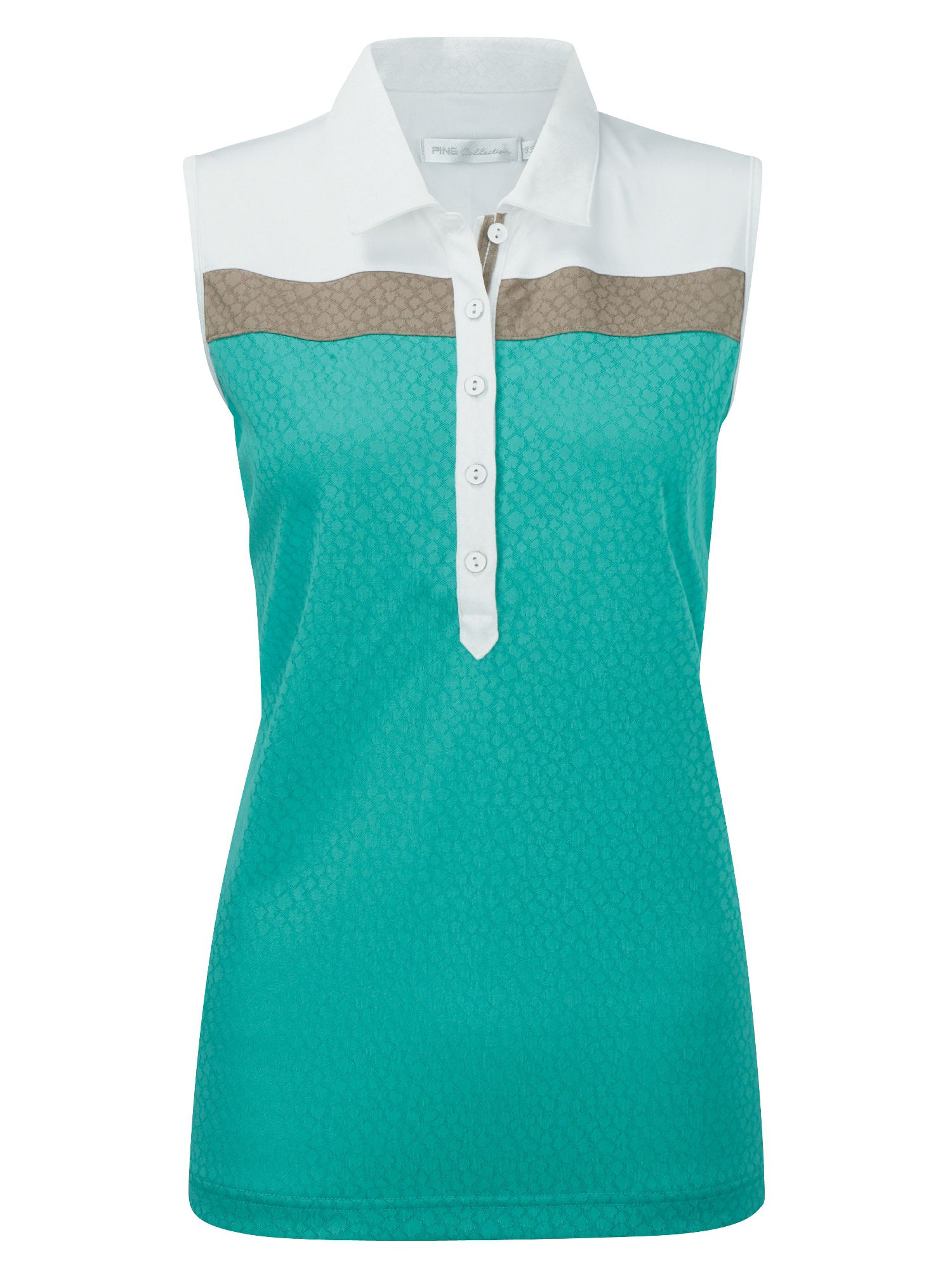 Trudy sleeveless polo shirt