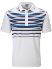 Ping Cortes Chest Stripe Polo