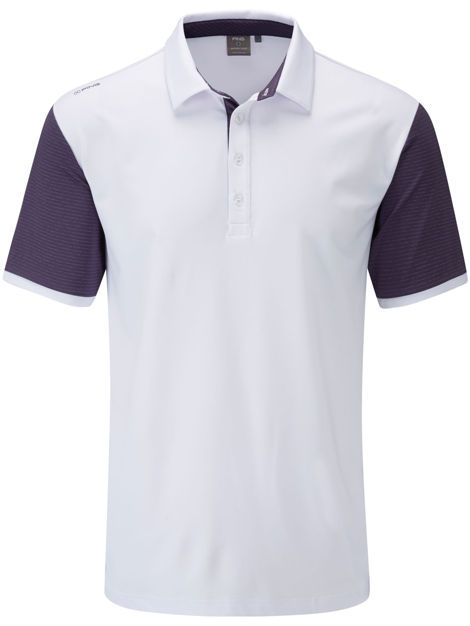Men's Ping Sotto Polo, White